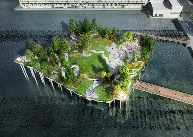 nyc floating park