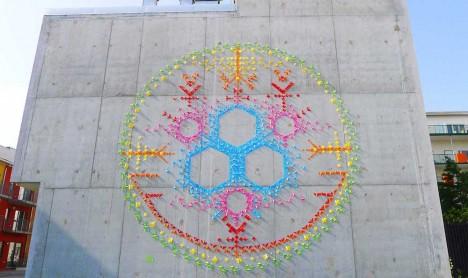 origami street art 3