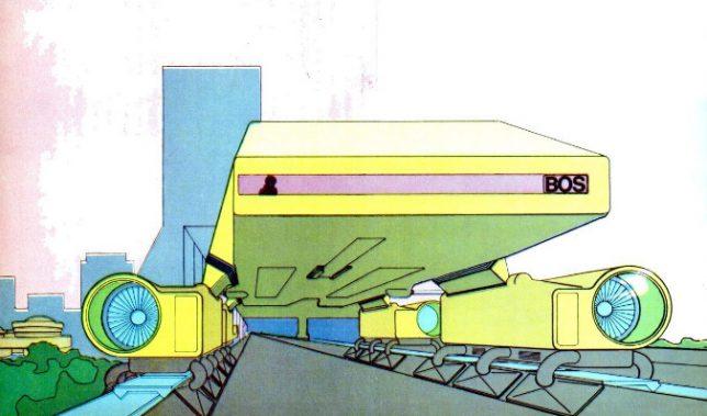 retro landliner design