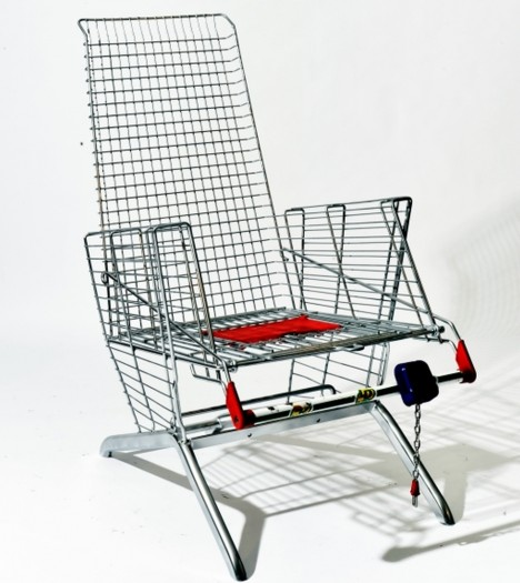 shopping chair two