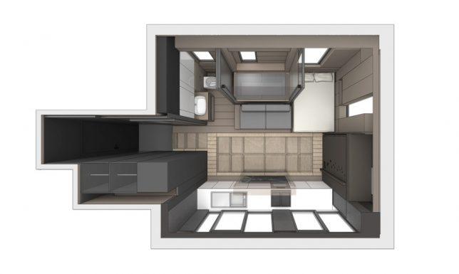 space saving small home 4