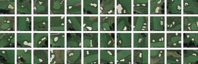 terrapattern golf courses