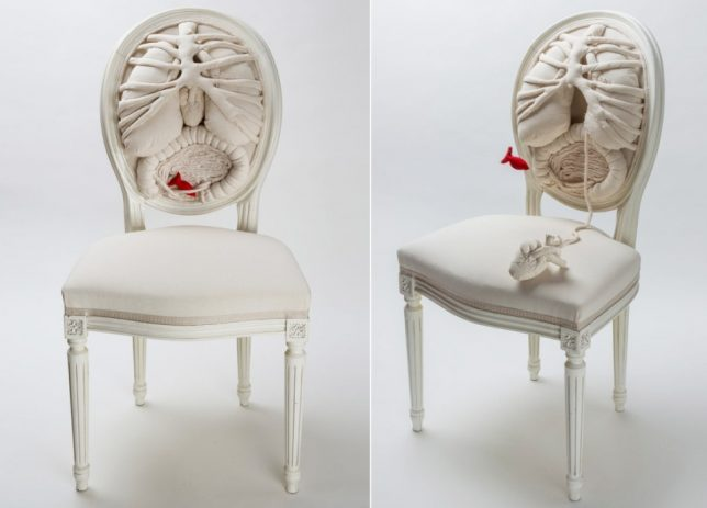 anthropomorphic anatomy chair