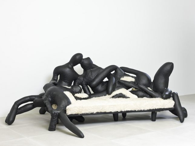 anthropomorphic body sofa