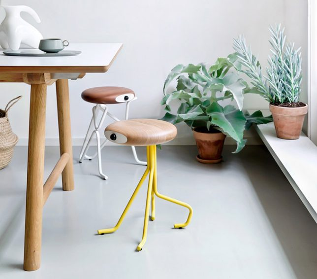 anthropomorphic companion stools 3