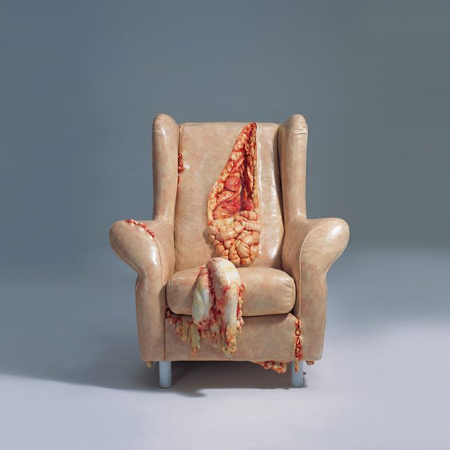 anthropomorphic fleshy chair 2