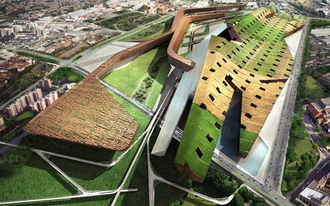 compact cities green roof 1