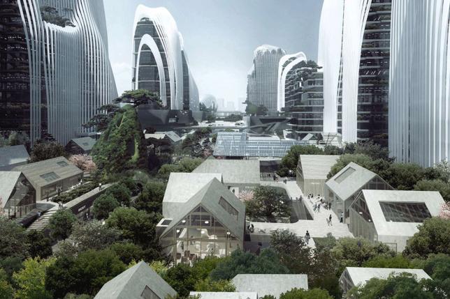 compact cities shanshui 1