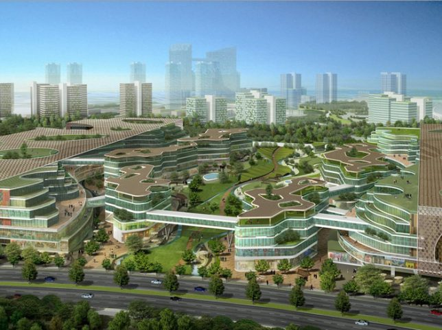 compact cities tianjin 3