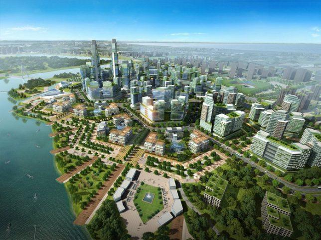 compact cities tianjin 4