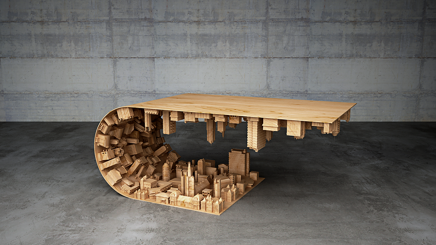 curved wave table