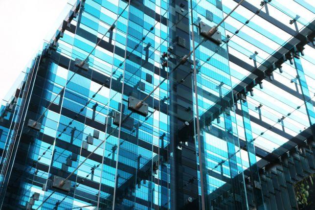 facades blue glass 3