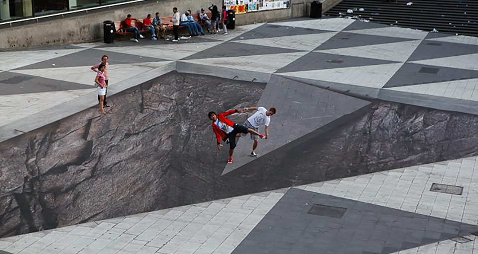 3D Street Art: 14 Eye-Popping Optical Illusions Created In Chalk recommendations