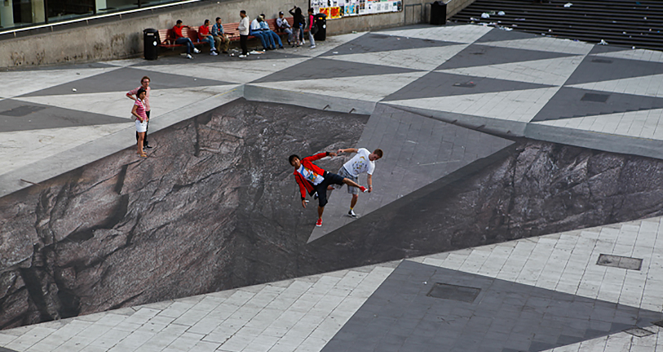 Peruse Your Illusions 21 Mind Bending Urban Works Of Art