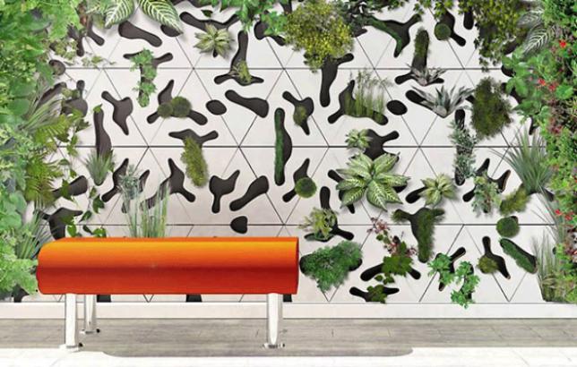 modern tile modular planter 3