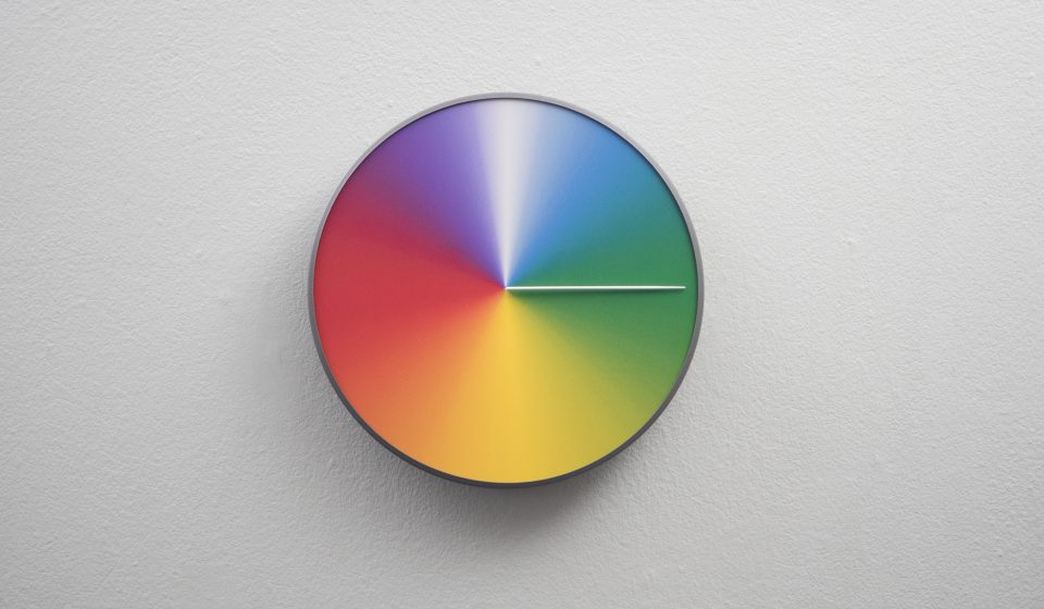 Colorful 24 Hour Amp 365 Day Clocks Tell Time In Hues