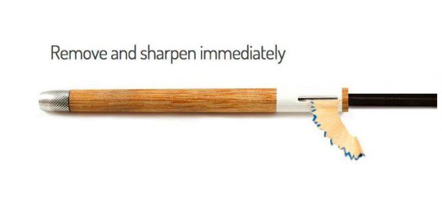 remove and sharpen