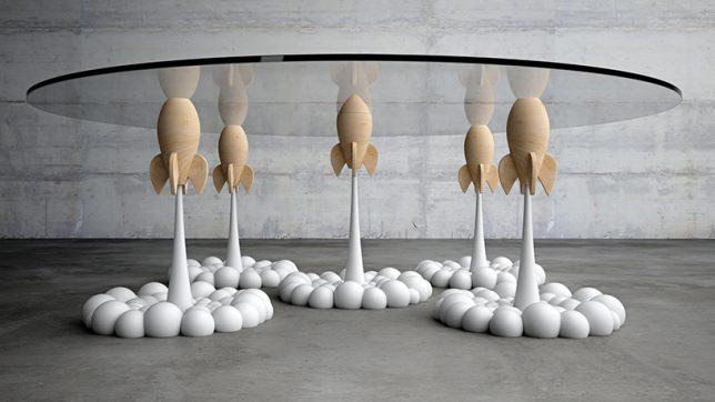 rocket side table