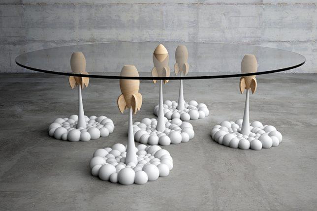 rocket table top
