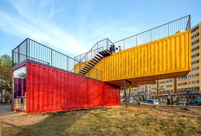 shipping container building 3