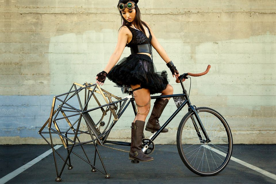 Beast Of A Bicycle Mechanical Modification With A Spider Like