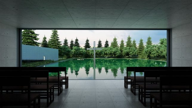 tadao ando church on the water 3