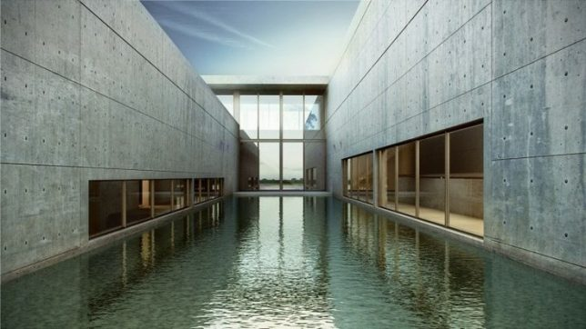 Reflecting on a master architect 10 water centric works for Art architectural