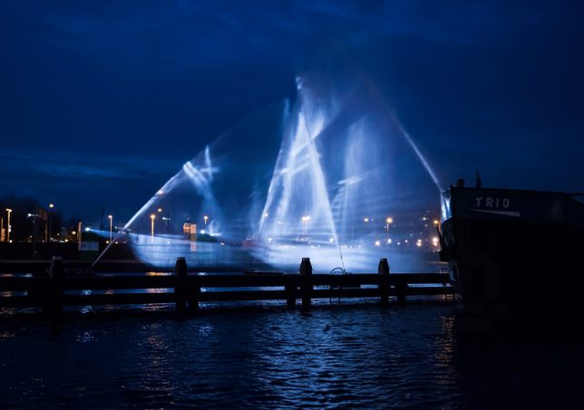 water art ghost ship 2