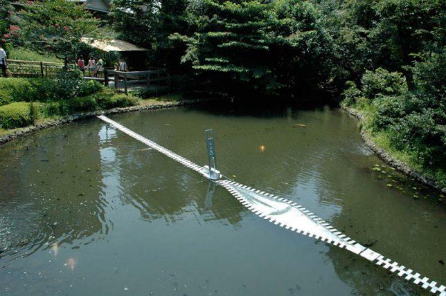 water art unzip pond