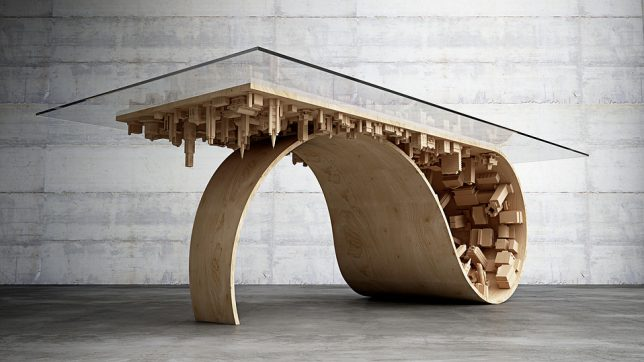 wave table side