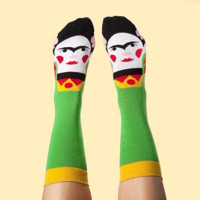 Artist Socks Series: Wear Pairs Of Figures From Famous