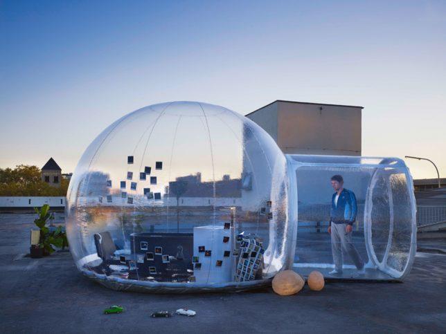 Air Tub With Bubble Bath