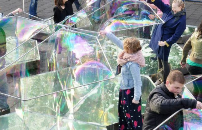 bubble building dus 1