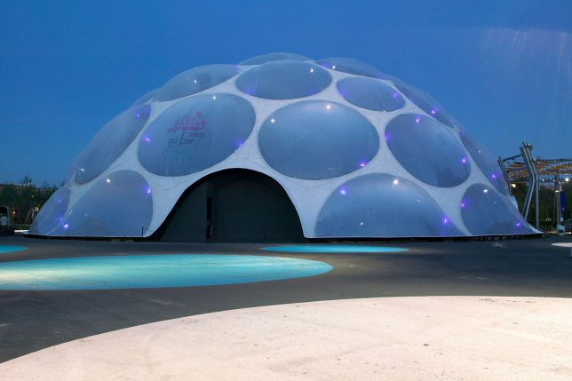 bubble buildings thirst pavilion 2