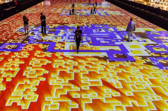 carpet display modular