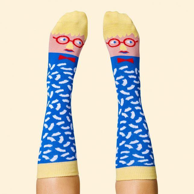david sock knee
