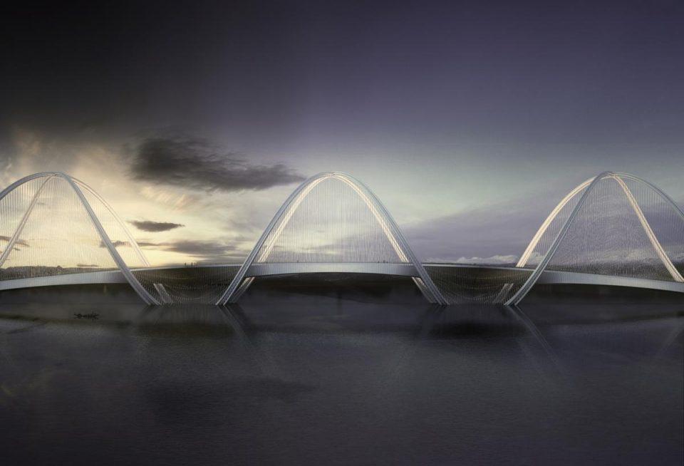 double helix bridge 1