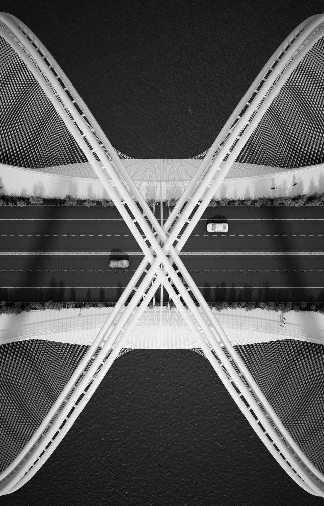 double helix bridge 2
