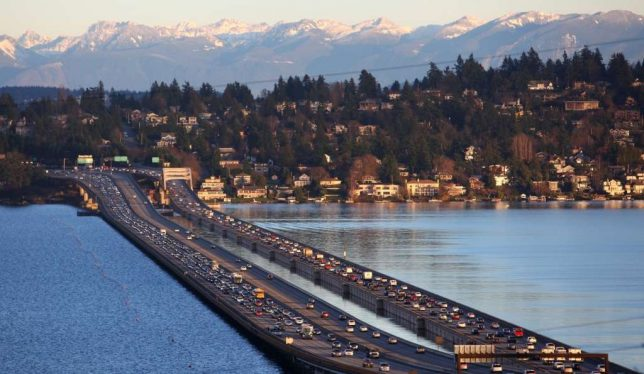 floating bridge seattle