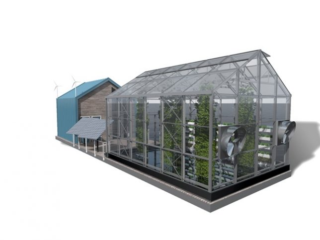 floating greenhouse design