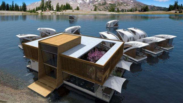 floating hotel concept