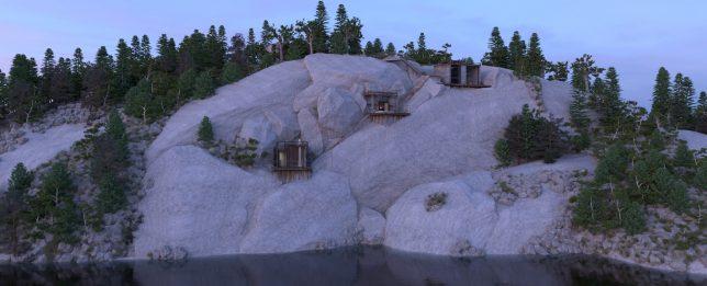 lake rock residence