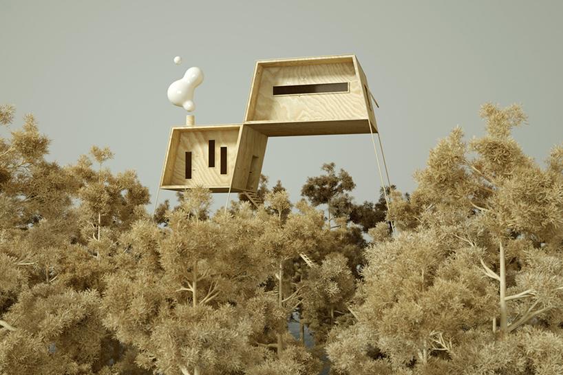 nordic retreat treehouse