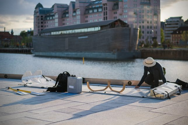onak fold up canoe 2