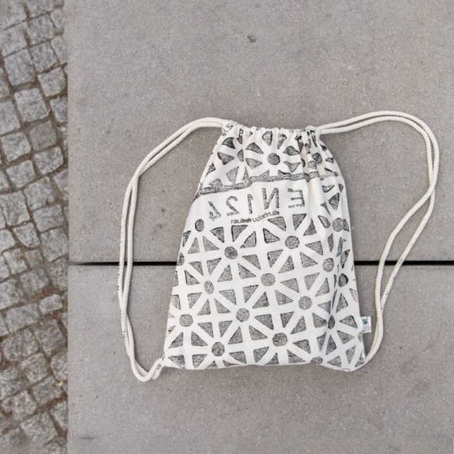 pirate patterned bag