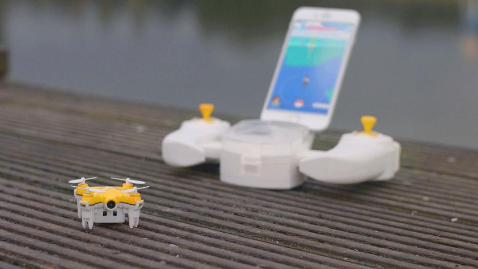 pokeman mini drone game