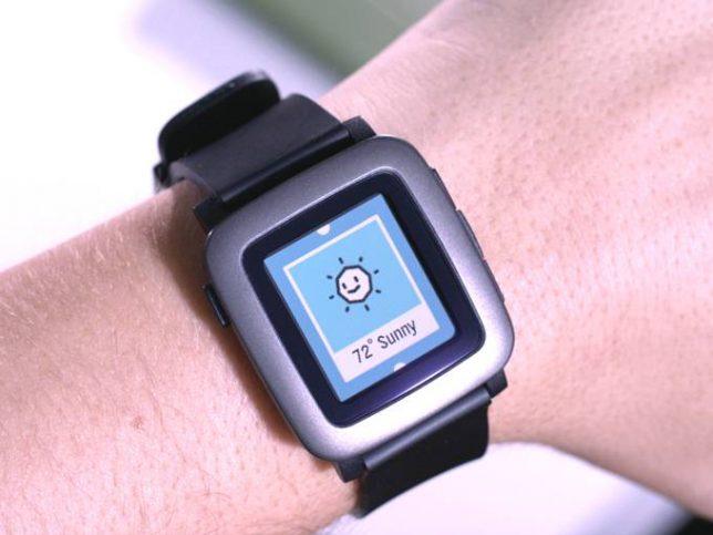 smart watch pebble time 1