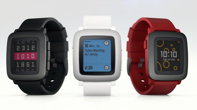 smart watch pebble time 2
