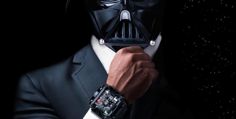 smartwatch darth vader