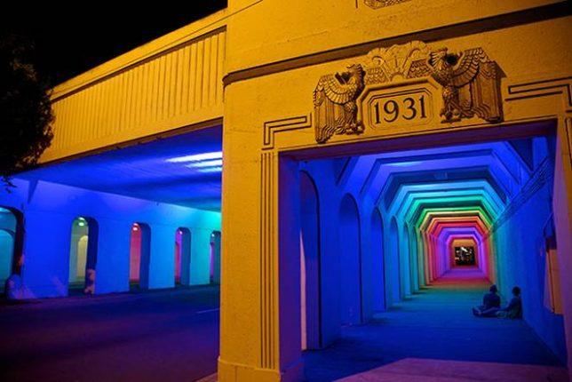 tunnels rainbow 2